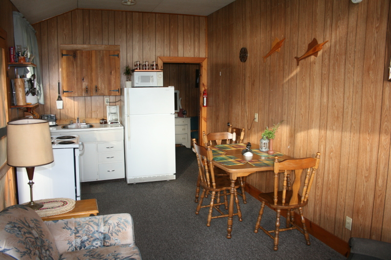 Open Concept Kitchen Living Room Matabanick Cottages On